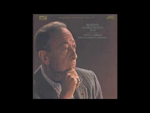 Beethoven Violin Concerto / Jascha Heifetz / Munch, Boston Symphony Orchestra (JM XR24003) 1959/2003