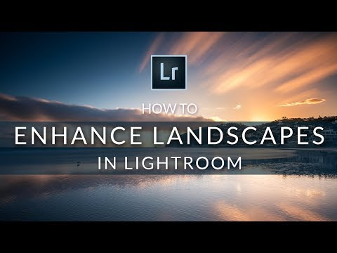 Editing Landscape Photos with Adobe Lightroom - sunsets and seascapes tutorial
