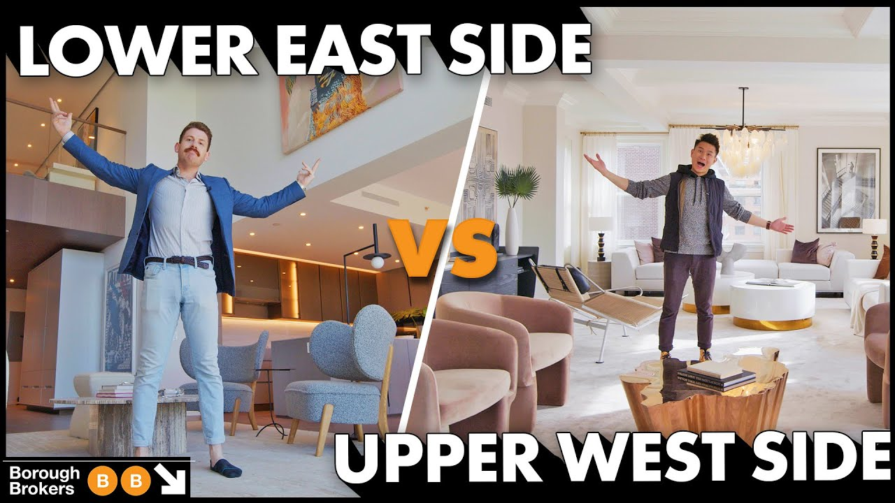 Lower East Side vs Upper West Side NYC Apartments | Borough Brokers