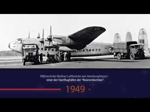 Hamburg Airport Chronik 1945 bis 1961
