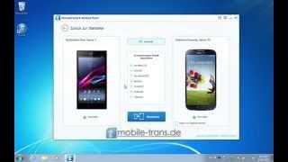 [Sony Samsung Weisung]: Wie Sie Daten wie Kontakte, SMS von Sony auf Samsung übertragen.