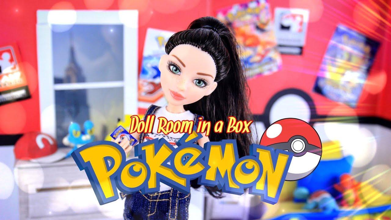 Diy How To Make Doll Room In A Box Pokemon Handmade Decor