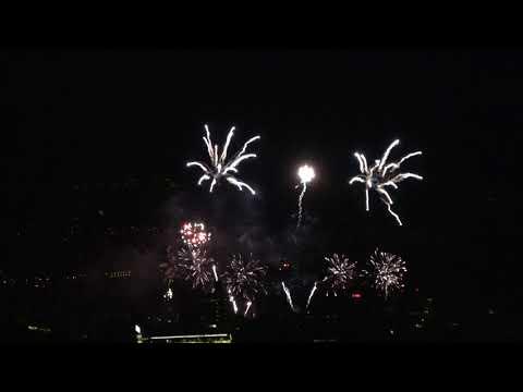 Zurich New Year's Eve Fireworks 2017