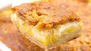 Torta De Banana Super Cremosa