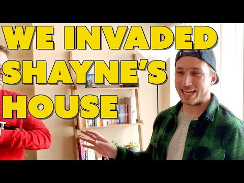 WE INVADED SHAYNES HOUSE