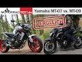 Yamaha MT09 Vs. MT07 | Vergleich Der Naked-Bike Mittelklasse-Motorräder Von Yamaha