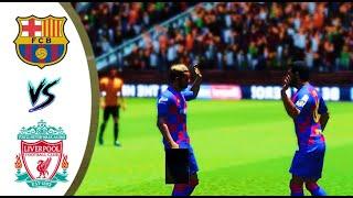 Barcelona vs liverpool full hd gameplay ...