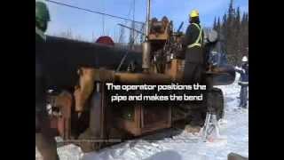 Монтаж магистрального трубопровода(, 2013-09-24T18:40:39.000Z)
