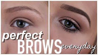 How I Fill in My Eyebrows | Perfect Brows Everytime