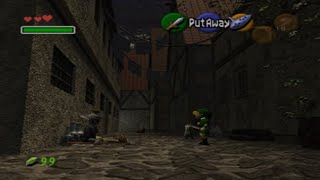 Legend of Zelda Ocarina of Time: Secret Soldier