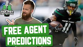 Fantasy Football 2020 - Free Agent Preview & Predictions + Silent Andy - Ep. #864