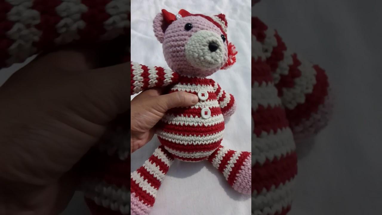 Amigurumis Porta pijamas poodle | Bolsas, Portas | 720x1280