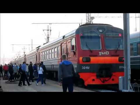 Прибытие и отправление ЭД4М-0114 со ст. Черепаново