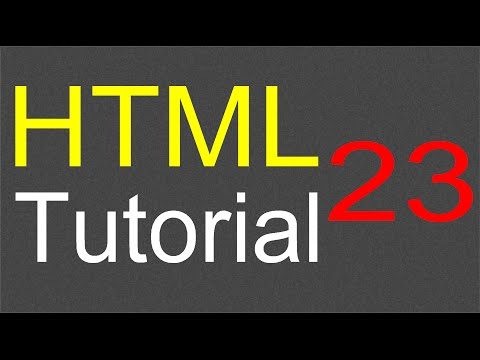 HTML Tutorial For Beginners - 23 - Iframe Element