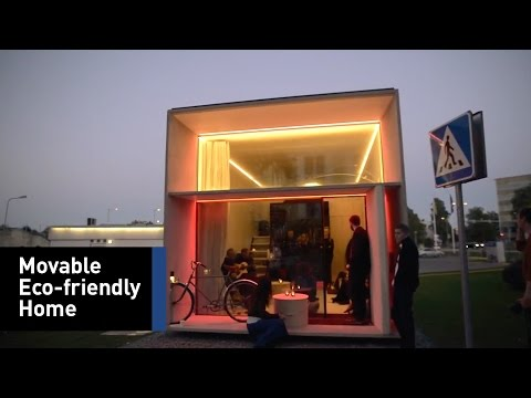 This Small Prefabricated Home Mixes Design And Technology