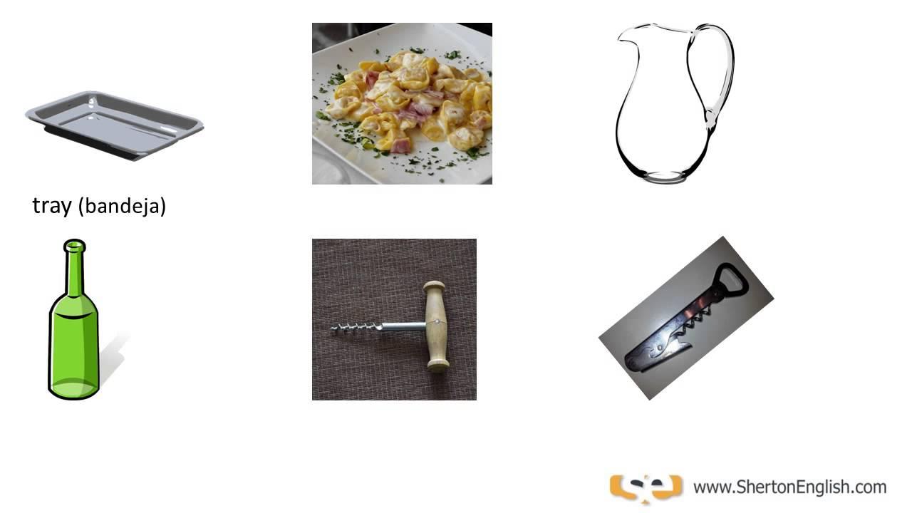 El comedor - Vocabulario en Inglés - The Dining Room | Sherton English