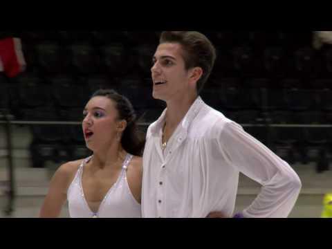 2016 ISU Junior Grand Prix - Tallinn - Free Dance - Sarah Marine ROUFFANCHE / Geoffrey BRISSAUD FRA