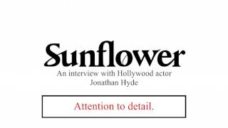 Life skills from Hollywood actor Jonathan Hyde.
