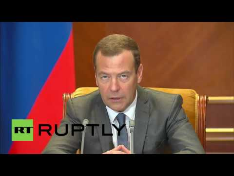 Russia: Medvedev discusses budget for the regions