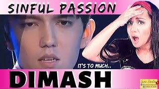 "Vocal Coach REACTS to DIMASH ""SINFUL PASSION"" 