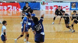 石川祐希 新井雄大 中央大vs東海大 全日本インカレ3位決定戦 2017  第3セット yuki ishikawa