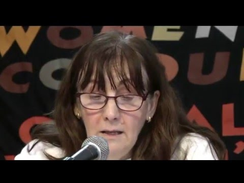 Gill Thompson, Campaigner against benefit sanctions - GWS Conference 2015