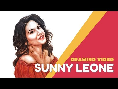 Sunny Leone | Drawing Video Mp3