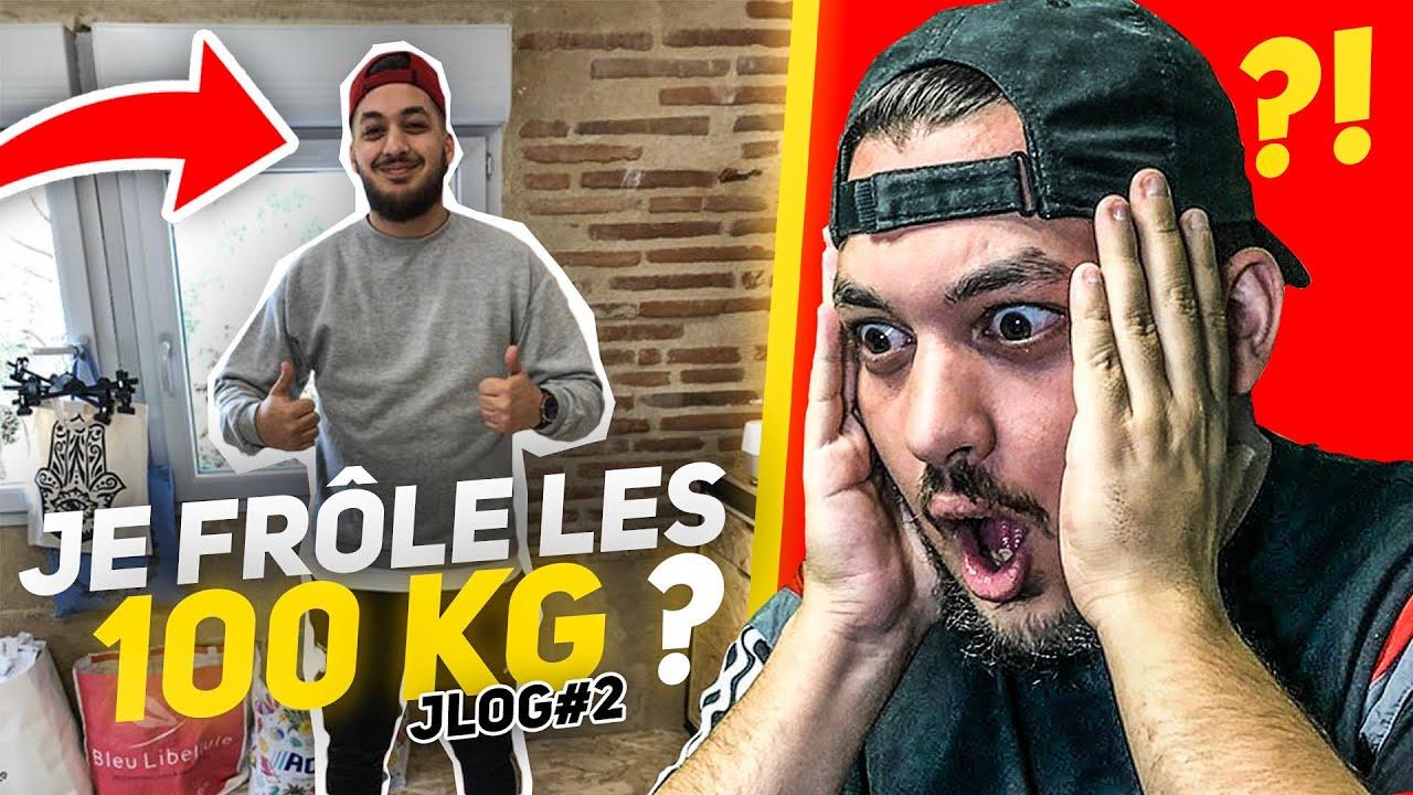 JE FRÔLE LES 100 KG ?! NOS OBJECTIFS POUR LA SUITE ! #JLOG 2