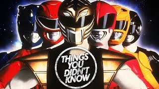 7 Things You (Probably) Didn't Know About the Power Rangers!