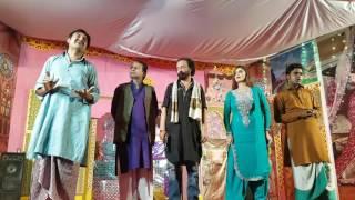 Entry DM and Majid moon and Sajjad shoki and Farooq shshzad
