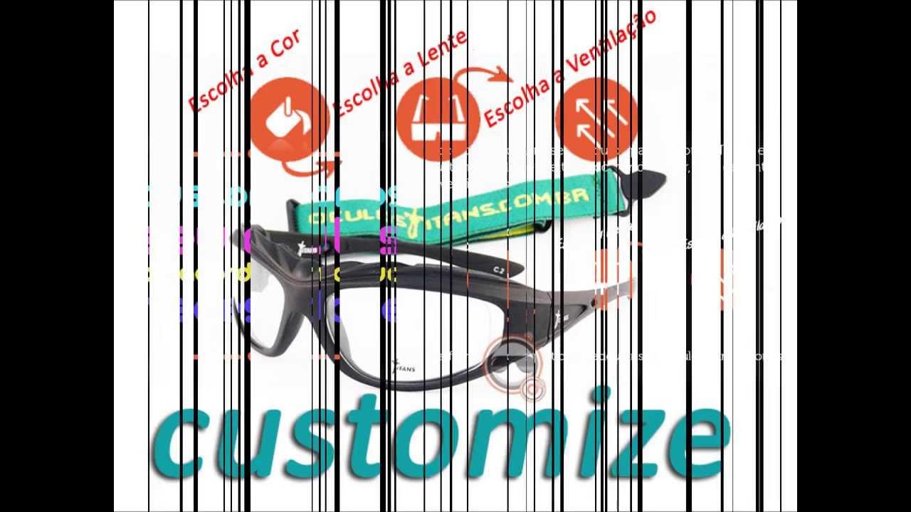 dbca26565119f Óculos para Jogar Futebol. Ótica Esportiva