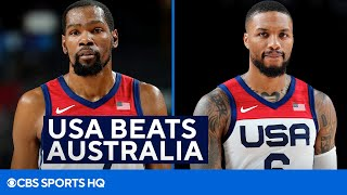 USA Basketball Beats Australia, Advances to the Gold Medal Game at the Tokyo Olympics