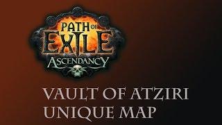 Vault of Atziri unique Vaal Pyramid map - Path of Exile Stream Highlight