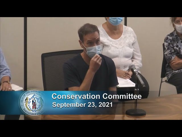 Conservation Commission 9-23-21