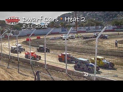 Barona Speedway Dwarf Car • Heat 2 • 8-11-2018