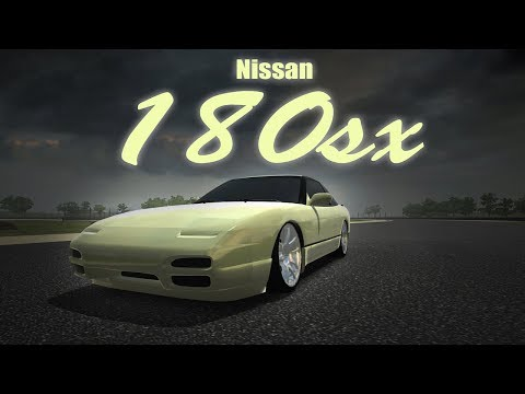 Nissan 180SX Practice Run Learning The Physics On New Game For The Channel (DRIFT HUNTERS)