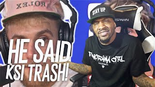 WHY MUST JAKE BE SO COCKY! | JAKE PAUL SPEAKS ON KSI BEING TRASH AND HIM NOT HAVING A GHOSTWRITER!