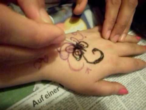 henna tattoo selber machen - Henna Muster Fur Anfanger