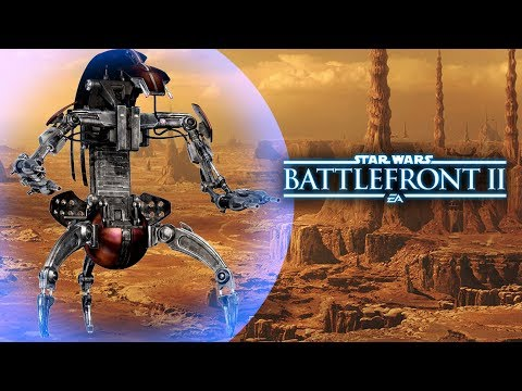 Star Wars Battlefront 2 (Classic) - Droideka Abilities, Reinforcement Ideas and More! thumbnail