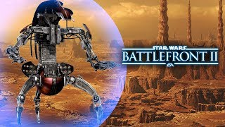 Star Wars Battlefront 2 (Classic) - Droideka Abilities, Reinforcement Ideas and More!