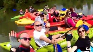 Spływ kajakiem – Bieszczady video