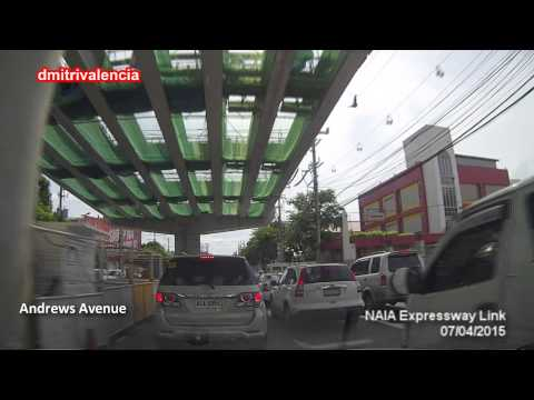 NAIA Expressway Philippines - Update July 2015