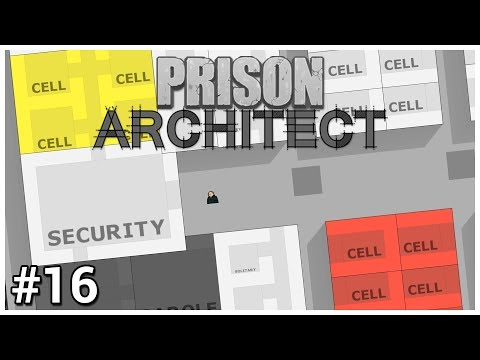 Prison Architect - #16 - Risk Assignment - Let's Play / Gameplay / Construction