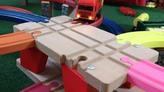 Best Level Crossing, Thomas, Trains, Brio, Color Train Track, Building Block Toys Train, For Kids