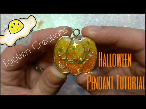 Halloween UV resin tutorial