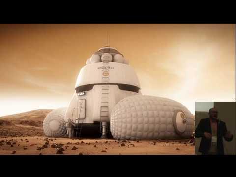 Bryan Versteeg - Space Habitat Designs - 22nd Annual International Mars Society Convention