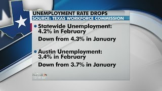 Texas Unemployment Rate Falls in February