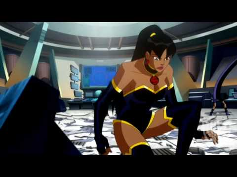 Justice League-Crisis on Two Earths-Owlman Clip