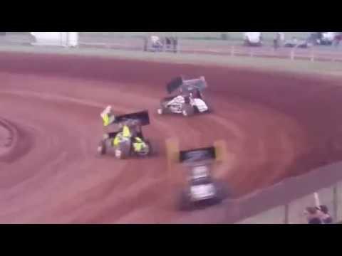 Lawton Speedway Champ Sprints Heat #1 5/28/2016