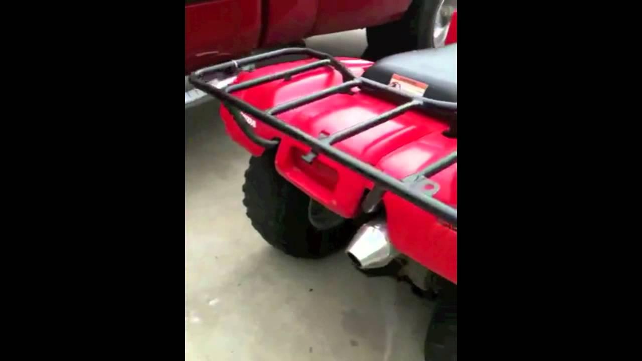Honda Recon Exhaust 1 Youtube